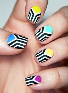 Chasing Shadows #nail #nails #nailart