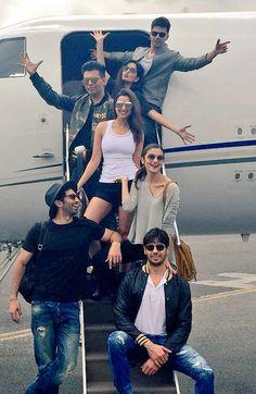 Dream Team Tour Diaries: Catch Alia Katrina Parineeti Varun Sids Fun Times with S Urf Suman Mondal(Suman), Bollywood Stars, Bollywood Couples, Bollywood Gossip, Indian Bollywood, Bollywood Fashion, Indian Celebrities, Bollywood Celebrities, Bollywood Actress, Indian Actresses