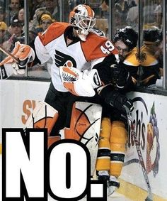 All those missed goalie interference calls eventually catch up to you ...