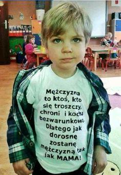 Jak mama... A Funny, Funny Memes, Polish Memes, Weekend Humor, Im Depressed, Happy Photos, Cringe, Beautiful World, Quotations