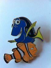 DISNEY Trading Pin- Blue Dory& Marlin Clon Fish Pixar Finding Nemo Swim 62032