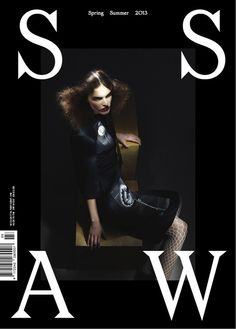 SSAW Spring Summer 2013, black cover