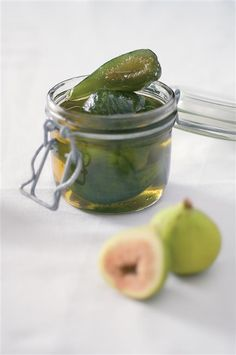A South African recipe for preserved figs from best-selling cookbook author and chef Cass Abrahams