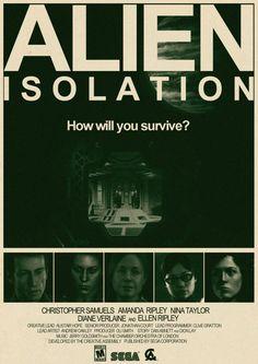 Fanart Friday: Alien: Isolation