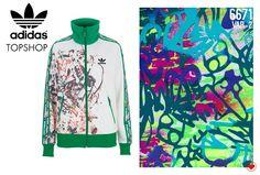 #adidas #topshop #grafismos #estampas #salotex #trend #tendencia