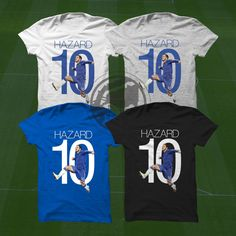 Hazard Goal T-Shirt - Chelsea FC Soccer Player - Size S to Xxxl -Custom Apparel Hazard Football, premier league, Belgium, soccer, futbol by Graphics17 on Etsy