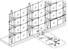 steel wire facade glass - Google Search