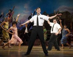 Book of Mormon -- Broadway at its best! It looks so funny!