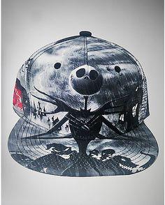Nightmare Before Christmas Snapback Hat - Spencer s cbf84293984