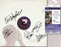"""THE TUBES Hand Signed LP Cover """"Outside Inside The Tubes"""" 5 Sigs - JSA COA in Collectibles, Autographs, Music   eBay"""
