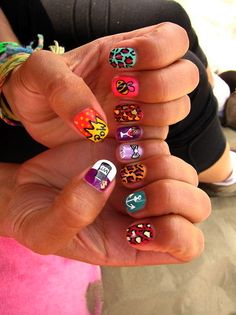 Nail Art loveeee the anchor! Crazy Nails, Funky Nails, Love Nails, How To Do Nails, Pretty Nails, My Nails, Dream Nails, Gorgeous Nails, Nail Art Designs
