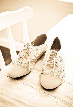 pretty lace shoes
