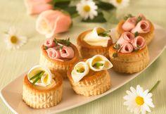 Bouquet di vol au vent con Camoscio d'Oro #ricette #receipe #food #deliciousfood #camosciodoro #camosciare