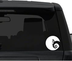 Car Window / Bumper Decal Sticker - Jack Skellington Nightmare before Christmas