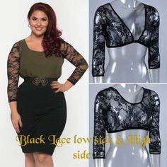 Lace Sleeves Notice The Difference Sleeveywonders Now Xs 2x