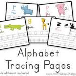 Free Printable Alphabet Tracing Pages