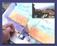 Improve Your Sketching in Watercolor