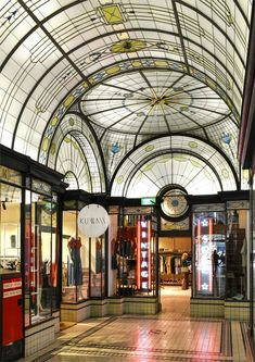 'Vintage'. Cathedral Arcade,Swanson Street, Melbourne. © G.C. Campbell.