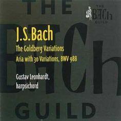 Bach: The Goldberg Variations, by Gustav Leonhardt