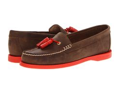 Sperry Top-Sider Eden Brown Leather/Orange - Zappos.com Free Shipping BOTH Ways