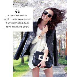 Leather Jacket. KEY.