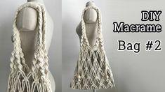 macrame/macrame anleitung+macrame diy/macrame wall hanging/macrame plant hanger/macrame knots+macrame schlüsselanhänger+macrame blumenampel+TWOME I Macrame & Natural Dyer Maker & Educator/MangoAndMore macrame studio Crochet 101, Bag Crochet, Crochet Shell Stitch, Crochet Handbags, Macrame Purse, Macrame Knots, Easy Crochet Projects, Macrame Projects, Diy Sac