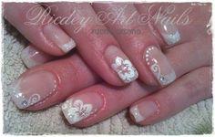 flowers by RicdeyArtNails - Nail Art Gallery nailartgallery.nailsmag.com by Nails Magazine www.nailsmag.com #nailart