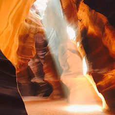 Antelope Canyon This slot canyon in the north of Arizona is situated in Navajo Nation, just a short drive outside of Page. Grand Canyon Arizona, Arizona State, Slot Canyon, Visit Arizona, Arizona Travel, World Of Wanderlust, Hiking Places, Natural Wonders, Angels