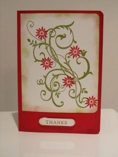 Stamp Up Your Craft: Baroque Motifs Gift card