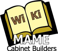 MAME Cabinet builders WiKi - The complete encyclopedia for building your MAME arcade cabinet.