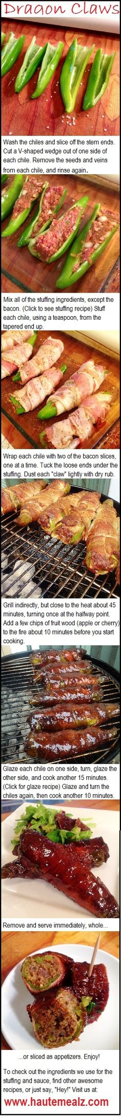 """Dragon Claws"" BBQ Appetizer... See our free meal weekly plans at: simplysmartdinnerplans.com:"