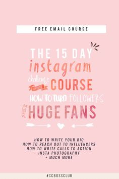 Free 15 Day Course and Challenge to Optimize Your Instagram
