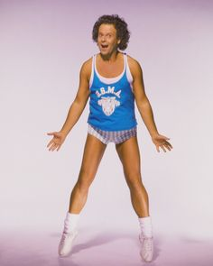 Okay, so technically exercise clothes are popular streetwear these days, but short-shorts and a skinny tank top are no longer the pieces of choice. Richard Simmons, on the other hand, will always be one of our faves.  - GoodHousekeeping.com