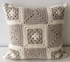 25+ best ideas about Crochet cushions on Pinterest   Crochet ...