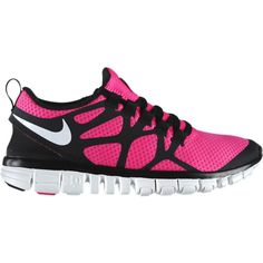Nike Free 3.0 v3 Womens Running Shoes - Pink Flash