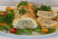 Seafood Dishes, Fish Recipes, Fresh Rolls, Avocado Toast, Food To Make, Food And Drink, Appetizers, Menu, Chicken