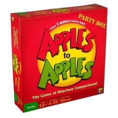Amazon.com: Apples to Apples Party Box - The Game of Hilarious Comparisons (Family Edition)=