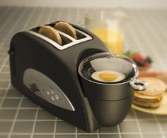Egg-and-Muffin 2-Slice Toaster and Egg Poacher