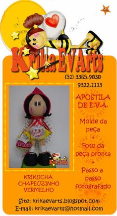 Chapeuzinho Vermelho - apostilasartesanatogratis - Álbumes web de Picasa
