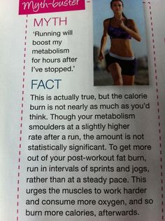How to make your run burn more calories even after you're done running