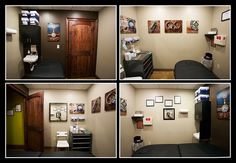 Just a glimpse into our piercing room at [Born This Way Body Arts - Knoxville, TN]!