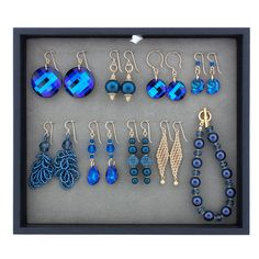 Give the Gift of Handmade Jewelry! | Fusion Beads | This is such a great idea for the holidays! I totally did this for a Christmas present this year for my niece. My jewelry board had 6 pairs of earrings and 2 necklaces.