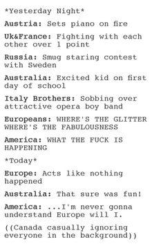❤ Hetalia Eurovision 2015 ❤