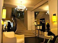 Escada da Maison Chanel em Paris www.conexaodecor.com