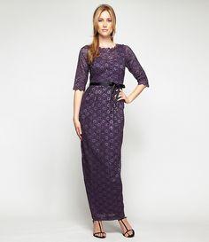 Alex Evenings Sequin Lace Gown | Dillards.com