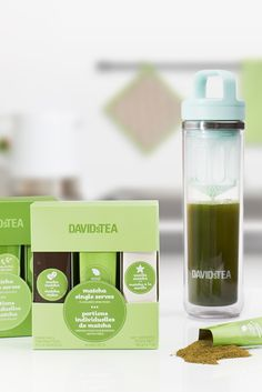 What's the easiest way to make matcha? With our single serve set, and new and improved Matcha Maker!