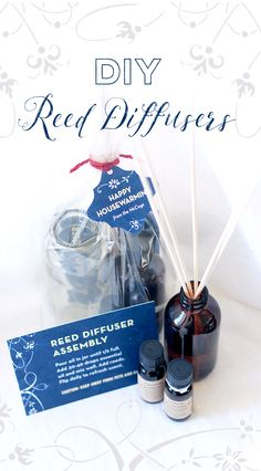 housewarming gifts, easy housewarming gift, easy house warming gift, house warming gift, homemade diffuser, diffusers,
