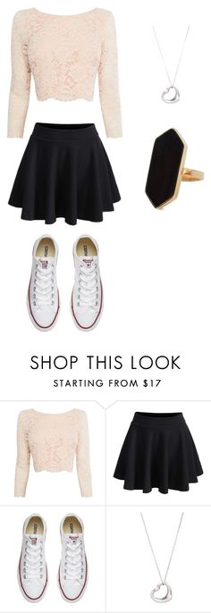 """Untitled #15"" by sandranlara on Polyvore featuring Coast, WithChic, Converse, Tiffany & Co. and Jaeger"