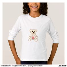 comfortable long sleeves for kids