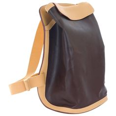 Hermes Etrusque BACKPACK- Like New! | From a collection of rare vintage backpacks at https://www.1stdibs.com/fashion/handbags-purses-bags/backpacks/